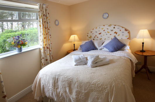 Double Bedroom, Coastguard Lodge, Outchester & Ross Farm Cottages, Northumberland
