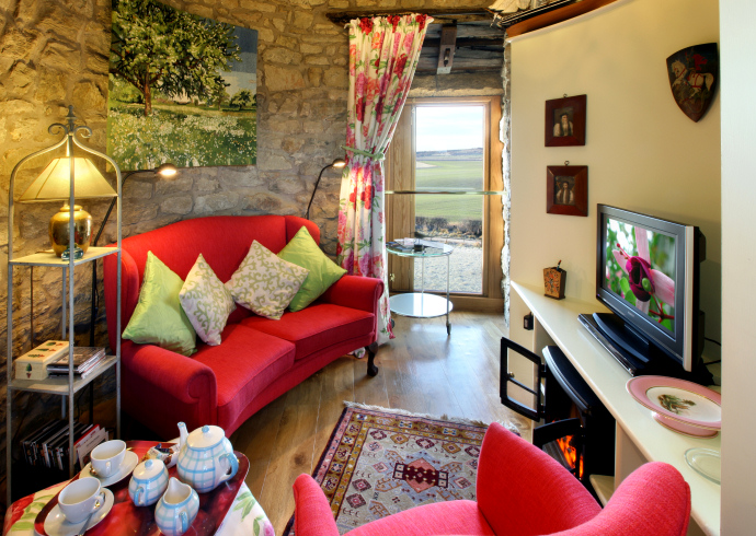 Sitting Room, The Ducket, Northumberland