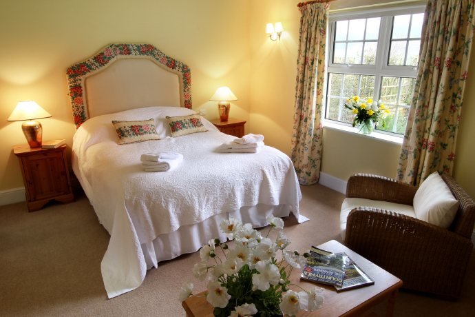 Double Bedroom, Eiderduck Cottage, Northumberland