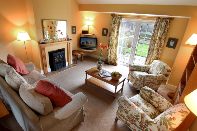 Sitting Room, Hedgehope Cottage, Northumberland