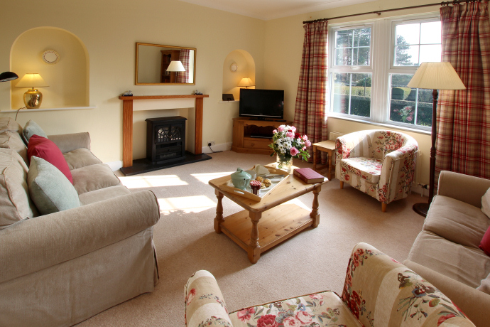 Sitting Room, Oystercatcher Cottage, Northumberland