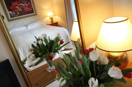 Bedroom, Shepherd's Cottage, Outchester & Ross Farm Cottages, Northumberland